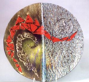 Crimson Trail 1 19.5dia x 2.5 inch deep bowl